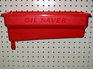 Oil Saver Bottle Drain - Red by Environmental Recycling Systems