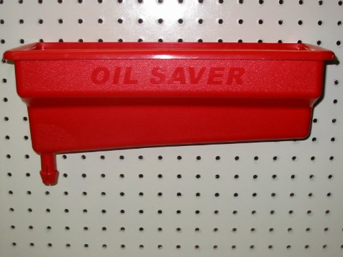 Oil Saver Bottle Drain - Red