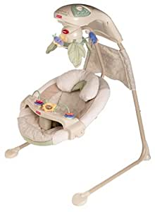 Fisher-Price Papasan Cradle Swing - Nature's Touch N1973 (Discontinued by Manufacturer)