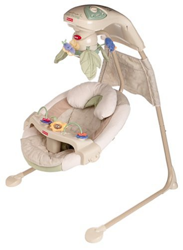 Fisher-Price Nature's Touch Baby Papasan Cradle Swing
