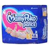 Mamy Poko Pants Size: Small 18 Pcs - S (4-8Kg), 18Pcs