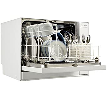 Countertop Portable Dishwasher with Digital Controls - White