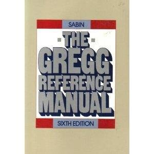The Gregg Reference Manual by William Sabin (2010, Spiral)