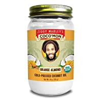 Coconut Oil - Organic, Orange Almond Flavor - 14 oz