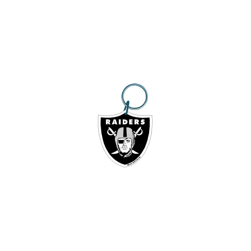 Oakland Raiders NFL Acrylic Key Ring Wincraft  21145041