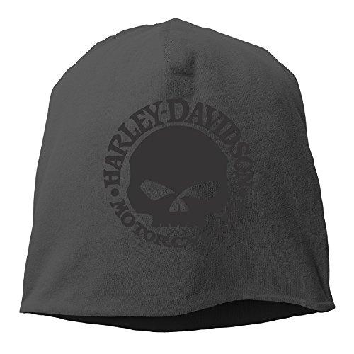 harley-skull-beanie-hat-skull-cap-black