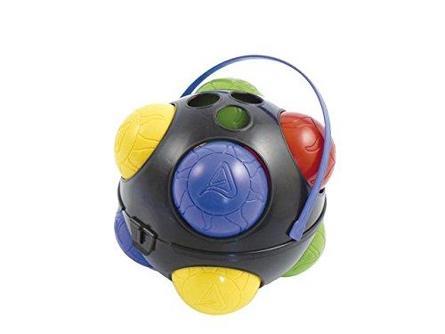 Adriatic 118/B - Juego de petanca con 8 bolas de colores [importado de Alemania]