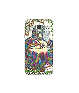 Kolor Edge Printed Back Cover For Samsung Galaxy On7 - Multicolor (8022-Ke10069SamOn7Sub)