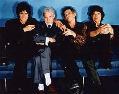 ブロマイド写真★ザ・ローリング・ストーンズ The Rolling Stones/椅子に座る4人/【ノーブランド品】