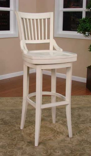 Liberty Tall Bar Stool Antique White