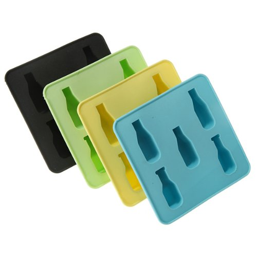 Bottle Freeze Party Drink Ice Mould Chocolate Mold Cube Cup Cake Maker Pan Tray 1pcs (color random)