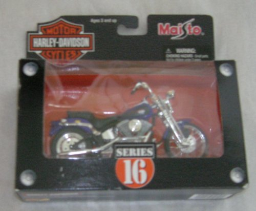 Harley-Davidson Motorcycle 1958 Duo Glide White/ Black 1:18 Series 16