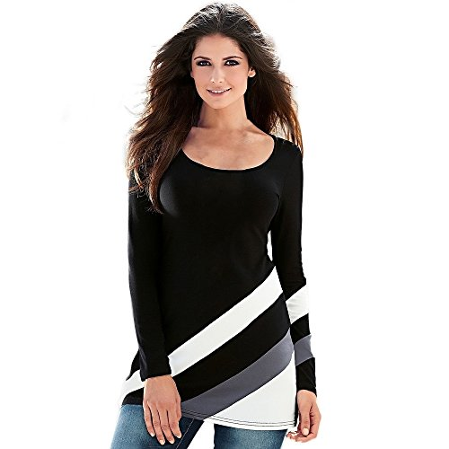 t-shirt-femme-sexy-stripe-splice-col-rond-pull-longue-manches-blouse-tops-t-shirt-s-buste339-noir