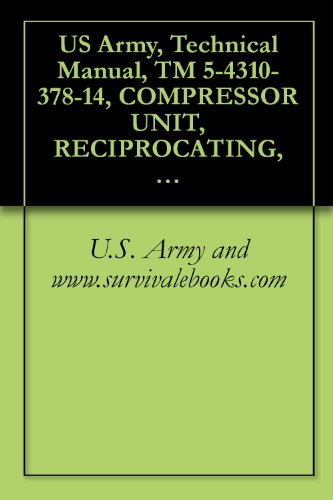 U.S. Army and www.survivalebooks.com - US Army, Technical Manual, TM 5-4310-378-14, COMPRESSOR UNIT, RECIPROCATING, 5 CFM, 175 PSI, GASOLINE ENGINE DRIVEN, HAND TRU MOUNTED MODEL NUMBER ZPC175/5, ... military manauals, special forces