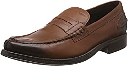 Geox Mens Leather Loafers and Moccasins B00IG4K0KM
