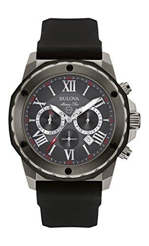 bulova-marine-star-mens-quartz-watch-with-grey-dial-chronograph-display-and-black-silicone-strap-98b