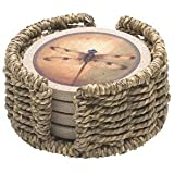 Thirstystone Seagrass Circular Holder