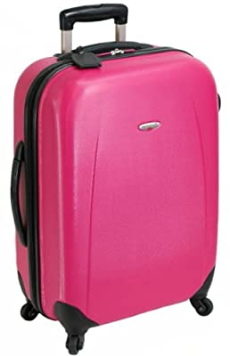 19 Inch Small Hard Shell 4 Wheel Spinner Suitcase ABS Luggage Trolley Case Cabin Carry On Hand