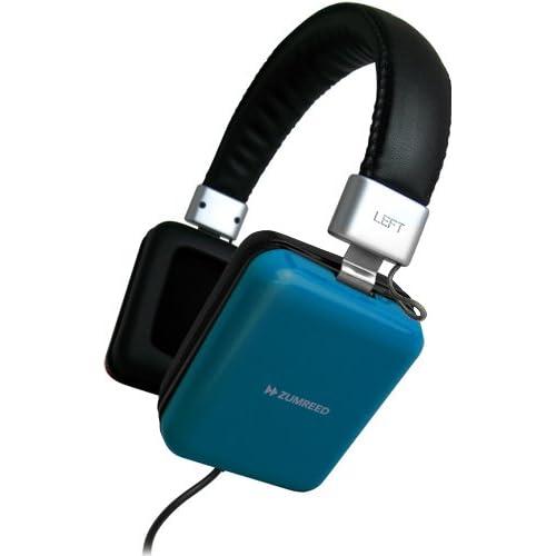 ヘッドホン おしゃれ ZUMREED ZHP010Square ZUM80218 BLUEをおすすめ