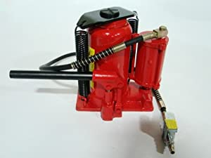 20 Ton Hydraulic Adjustable Bottle Jack Shop Automotive Air Tool Auto Repair