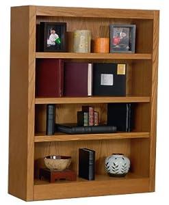 9 48 H X 30 W Oak Bookcase Bookshelves O Signature Series Inside Corner