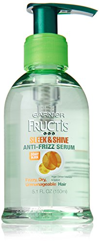 Garnier Hair Care Fructis Sleek & Shine Anti-frizz Serum, 5.1 Fluid Ounce