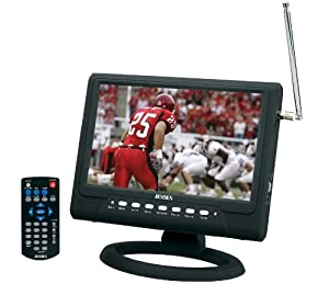 "Jensen JDTV-1020 10"" TFT Color LCD Television with Built-In Digital ATSC Tuner"