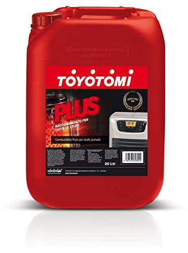 Toyotomi PLUS20L Plus Combustibile per Stufe 20 Litri, Aromatici < 0.00500%