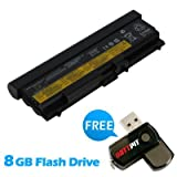 Battpit⢠Laptop / Notebook Battery Replacement for Lenovo ThinkPad T430i 2344-FGG (6600 mAh) with FREE 8GB Battpit⢠USB Flash Drive