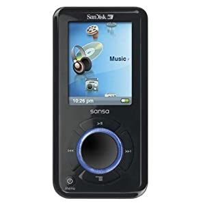 SanDisk Sansa e280R Rhapsody Edition e280 - Digital player / FM Radio - flash 8 GB - WMA, MP3 - video playback - display: 1.8