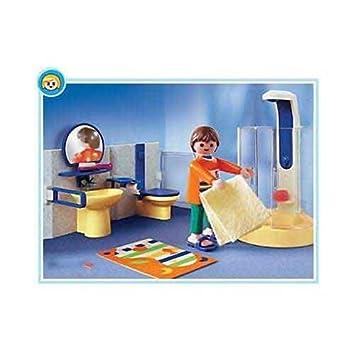 Playmobil 3969 la maison moderne salle de bains for Salle bain playmobil