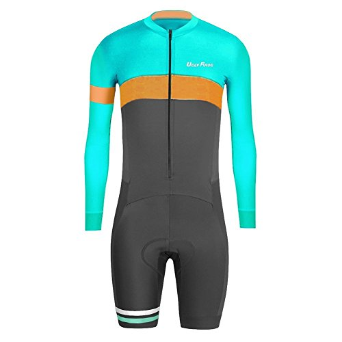 Uglyfrog SKL04 2016 Nuovi Uomini Traspirante Primavera Autunno A Maniche Lunghe Ciclismo Body Skinsuit All'aperto Sportswear Abbigliamento Triathlon