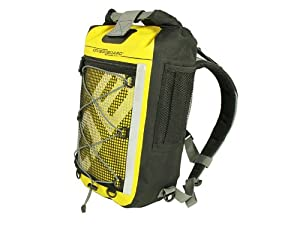 Overboard Pro Sports Waterproof Backpack - Yellow, 20 Litres