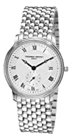 Frederique Constant Mens Slim Line Date FC-245M4S6B Stainless Steel Watch by Frederique Constant