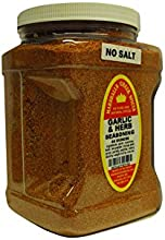 Marshalls Creek Spices Family Size Garlic and Herb No Salt Seasoning 44 Ounce