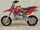 DB49A RED 49CC 50CC 2-STROKE GAS MOTOR MINI DIRT PIT BIKE