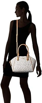 Calvin Klein Logo Satchel Bag