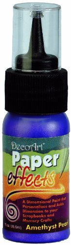 Paper Effects Paint 1oz Squeeze Bottle-Amethyst Pearl