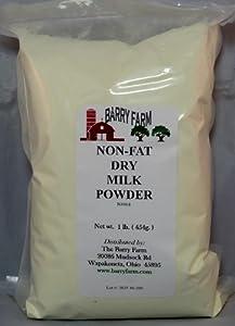Non-Instant Non Fat Milk Powder, 1lb.
