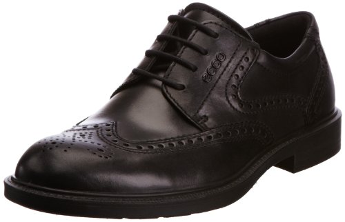 ECCO Mens Atlanta Brogue 61012421001 Black 9.5 UK, 44 EU
