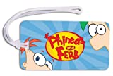 Phineas & Ferb Backpack ID Tag (11040A)