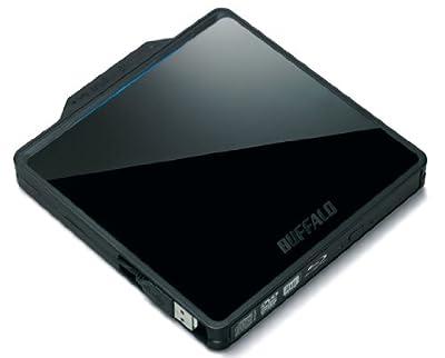 BUFFALO BDXL USB2.0用 ポータブルブルーレイドライブ ブラック BRXL-PC6VU2-BK