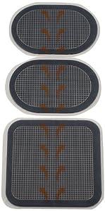The Flex Belt Gel Pads Set for Flex System Belt, Grey