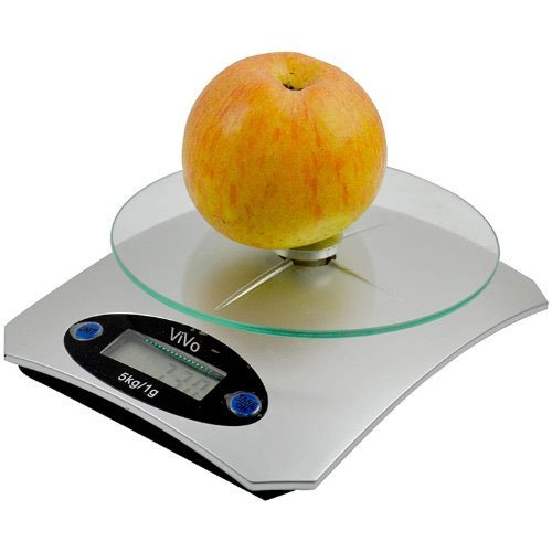 Vivo Digital LCD Glass Electronic Kitchen Food Scales