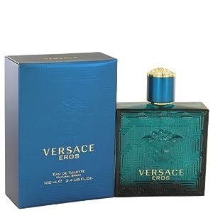 Versace Eros by Versace Eau De Toilette Spray 3.4 oz / 100 ml for Men