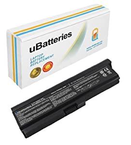 UBatteries Laptop Battery Toshiba Satellite U400-S1401 U400-ST3301 U400-ST3302 U400-ST5404 U400-ST6301 U405-2801 U405-2803 U405-6929A U405-6929C U405-6929R - 9 Cell, 6600mAh
