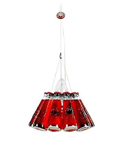 Ingo Maurer Lámpara De Suspensión Campari Light Rojo Ø22 H max 150 cm