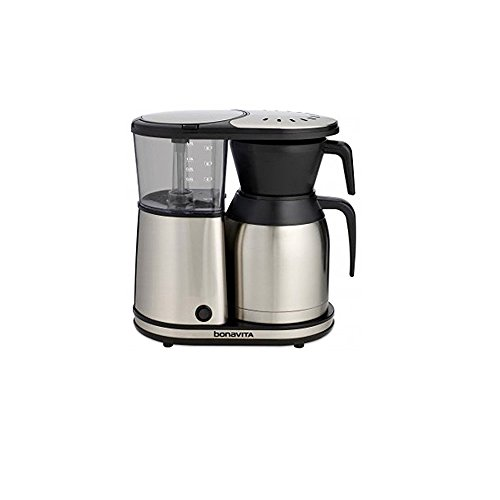 Bonavita BV1900SS 8-Cup Coffee Maker with Thermal Carafe and Accessory Bundle Home Garden ...