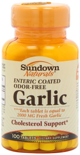 Enteric coated garlic tablets