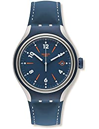 swatch watches buy swatch watches for men women online in swatch go run blue dial blue rubber strap analogue men s watch yes4000
